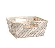 Medium Quinn White Washed Basket