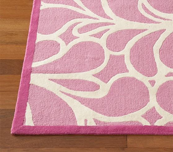 Pink Sadie Rug Swatch
