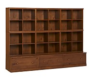 Cameron 6 Cubby & 3 Drawer Base Set, Sun Valley Honey