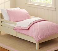 Mini Dot Toddler Pillowcase, Pink