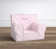 Light Pink With Metallic Heart Anywhere Chair®