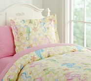 Seahorse Duvet Cover, Twin