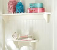 Hayden Simply White Shelf, 2ft