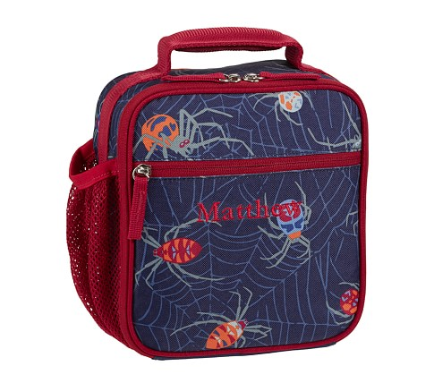Mackenzie Navy Spider Classic Lunch Bag