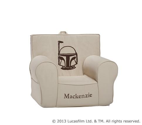 Anywhere Chair® Slipcover Only, Boba Fett™ Crewel