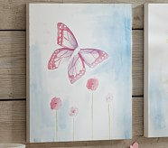 Botanical Canvas Art, Butterfly