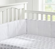 Taylor Organic Crib Fitted Sheet
