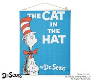 Dr. Seuss™ Book Cover Canvas Art - The Cat in the Hat
