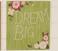 Woodland Plaque, Dream Big