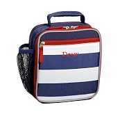 Classic Lunch Bag, Fairfax Navy/White Stripe