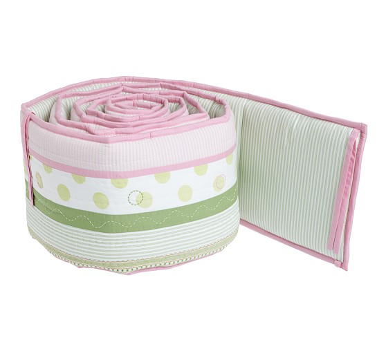 Penelope Nursery Quilted Bumper