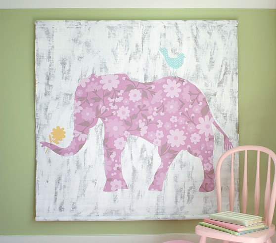 Cecilia Elephant Canvas Art