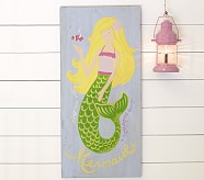 Mermaid Surf Plaque