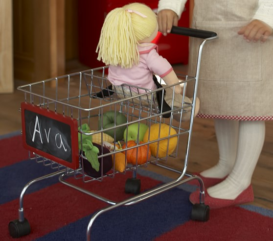 Shopping Cart with Baby Seat