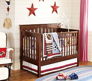 Nursery Quilt Bedding Set: Toddler Quilt, Crib Skirt & Crib Fitted Sheet