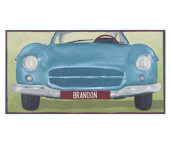 Personalized Car Art