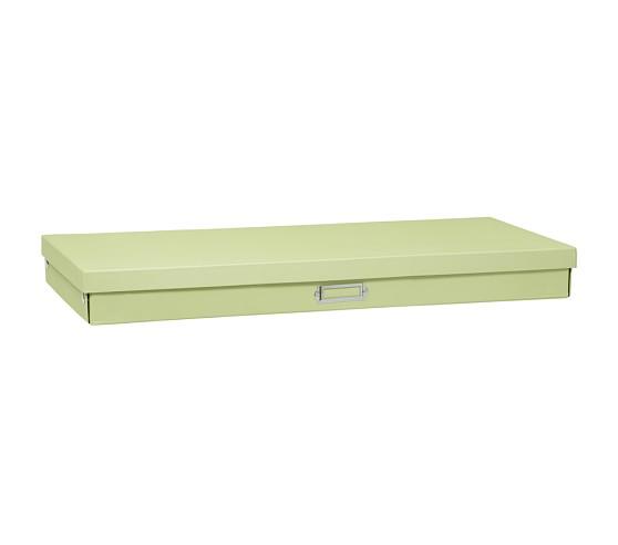 Girls' Cameron Creativity Storage, Large Flat Box, Green
