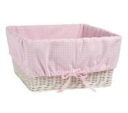 XL Gingham Liner, Pink
