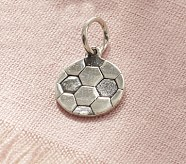 Soccer Ball Charm Necklace