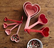 Heart Shaped Mixing Cups
