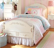 Stella Bed & Plush Mattress Set, Twin