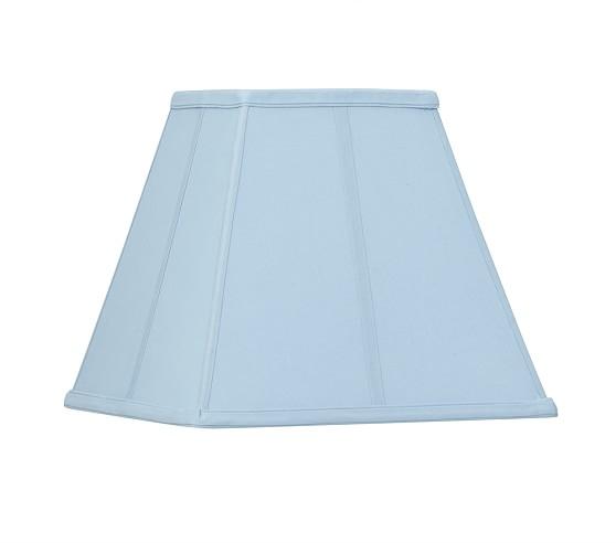 Parker Floor Lamp Shade, Light Blue
