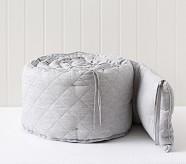 Linen Bumper, Gray