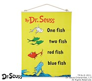 Dr. Seuss™ Book Cover Canvas Art - One Fish Two Fish Red Fish Blue Fish