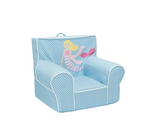 Anywhere Chair Slipcover, Mermaid Applique