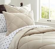 Cozy Plush Comforter, Twin, Khaki
