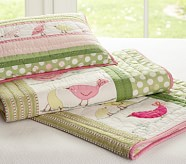 Penelope Sham, Small Quilted Sham