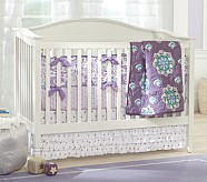 Brooklyn Nursery Nursery Quilt Bedding Set: Toddler Quilt, Crib Skirt & Crib Fitted Sheet