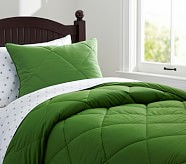 Cozy Comforter, Twin, Green