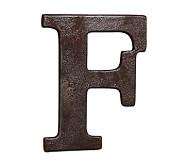Faux Bronze Letter, F