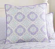 Tory Euro Quilted Sham, Lavender