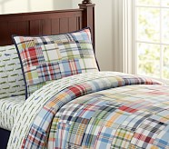 Madras Duvet Cover, Twin