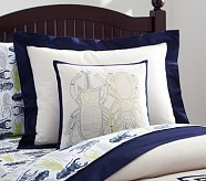 Beetle Linen Decorative Sham