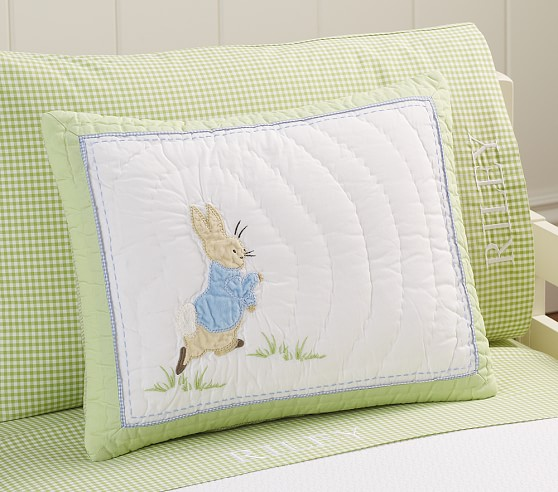 Peter Rabbit™ Nursery Small Quilted Sham