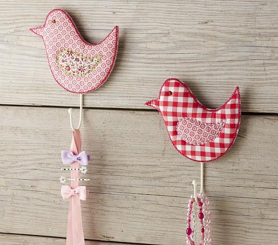 Birdie Hook, Pink Green