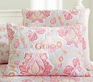 Elyse Standard Quilted Sham, Pink