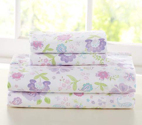 Garden Party Sheet Set, Twin, Lavender