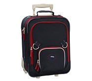 Fairfax Navy/Red Small Luggage, Football