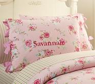 Savannah Floral Standard Sham, Pink