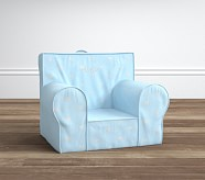 Light Blue With Metallic Heart Anywhere Chair®