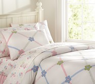 Lindsey Lattice Duvet, Twin