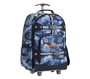 Rolling Backpack, Mackenzie Navy Shark Camo