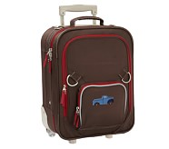 Fairfax Chocolate/Red Small Luggage, Truck