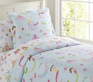 Mermaid Duvet Cover, Twin