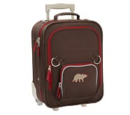 Fairfax Chocolate/Red Small Luggage, Dino