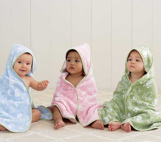 Cozy Critter Nursery Wrap, Blue Whale